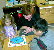 Wheel of Action Speech Therapy Game for Children