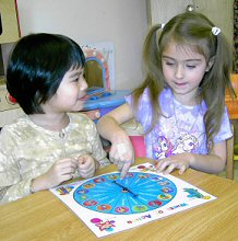Children's language skills improve effortlessly with WHEEL OF ACTION